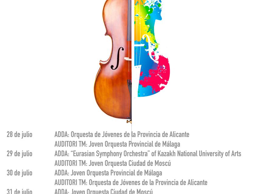 28 jul t/m 2 aug. III Festival Internacional de Jóvenes Orquestas