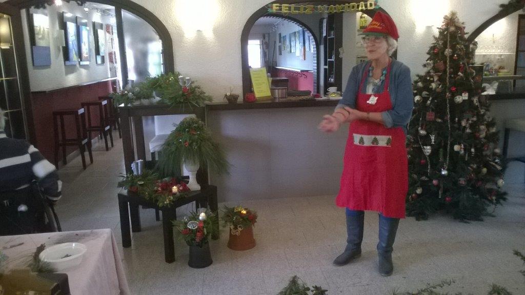 Verslag Kerststukjes maken