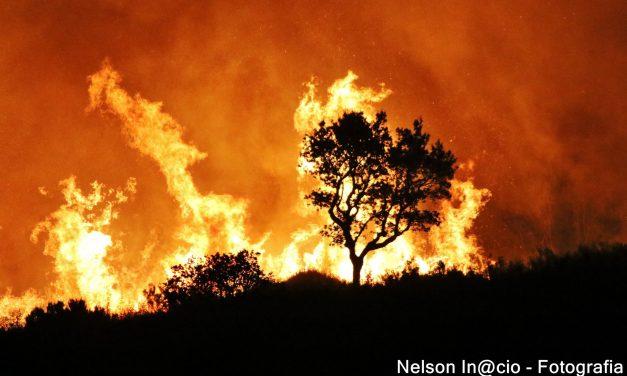 De Cumbre in vlammen