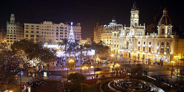 Kerstinkopen in Valencia
