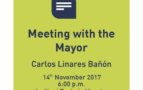 Ontmoeting met de burgemeester