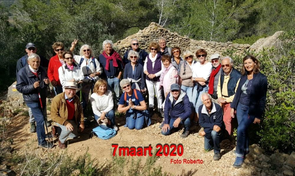 Verslag bergstappers 7 maart 2020