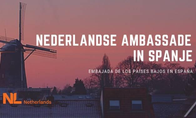 Contact met de ambassadeur van Nederland in Madrid