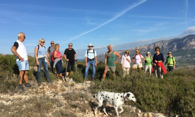 Verslag Bergstappers Plus 18 oktober 2020
